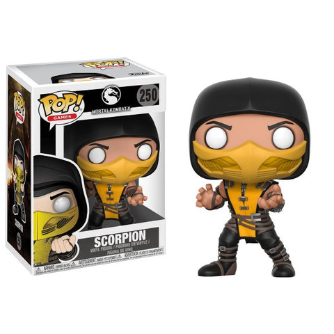Funko POP! Games - Mortal Kombat X: Scorpion Vinyl Figure [Toys, Ages 3+, #250]