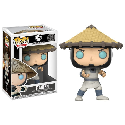 Funko POP! Games - Mortal Kombat X: Raiden Vinyl Figure [Toys, Ages 3+, #254]