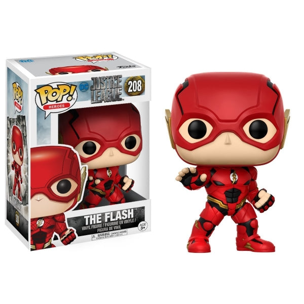 Funko POP! Heroes - DC Justice League: The Flash Vinyl Figure [Toys, Ages 3+, #208]