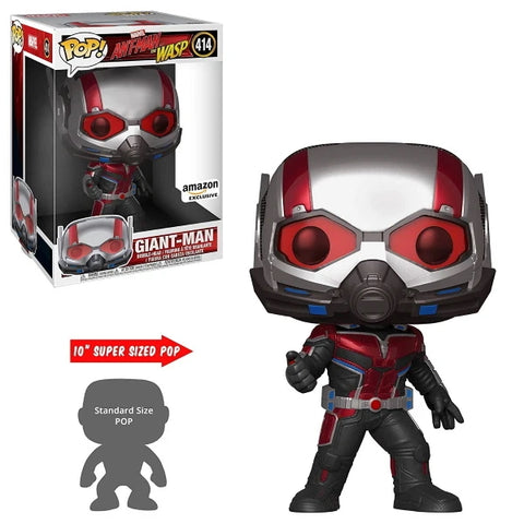 "Funko POP! Marvel: Ant-Man and The Wasp - Giant Man Super Sized 10"" Vinyl Figure [Toys, Ages 3+, #414]"