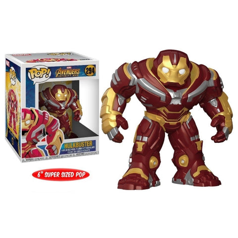 Funko POP! Marvel Avengers - Infinity War: Hulkbuster Vinyl Bobble-head [Toys, Ages 3+, #294]