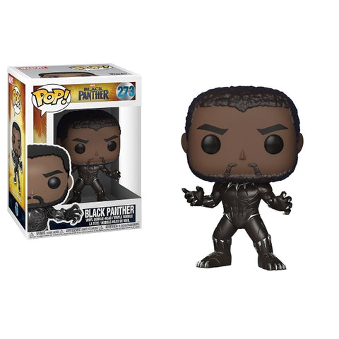 Funko POP! Marvel: Black Panther Vinyl Bobble-head [Toys, Ages 3+, #273]