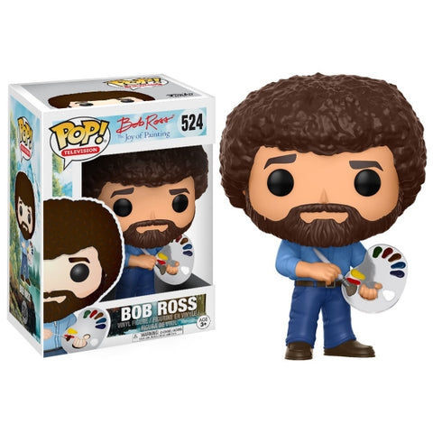 Funko POP! Television: Bob Ross - The Joy of Painting Vinyl Figure [Toys, Ages 3+, #524]