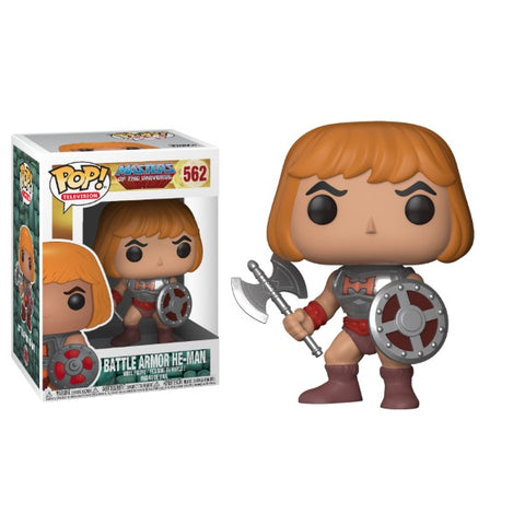 Funko POP! Television: Masters of the Universe - Battle Armor He-Man [Toys, Ages 3+, #562]