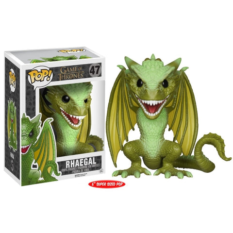 Funko POP! - Game of Thrones: Rhaegal Super Sized Vinyl Figure [Toys, Ages 17+, #47]