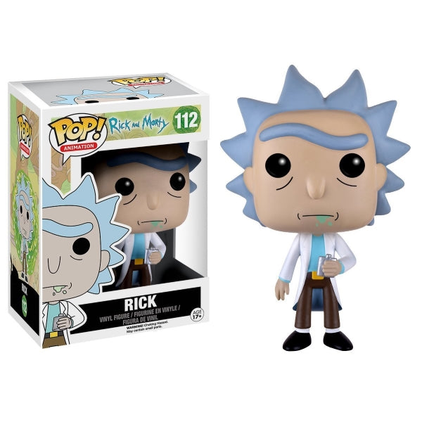 Funko POP! Animation - Rick and Morty: Rick Vinyl Figure [Toys, Ages 17+, #112]