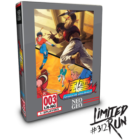 Fu'un Super Combo - Classic Edition - Limited Run #312 [PlayStation 4]
