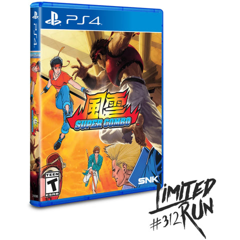 Fu'un Super Combo - Limited Run #312 [PlayStation 4]