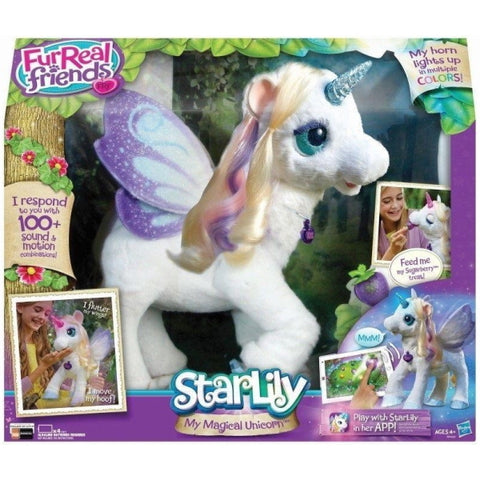 FurReal Friends StarLily - My Magical Unicorn [Toys, Ages 4+]