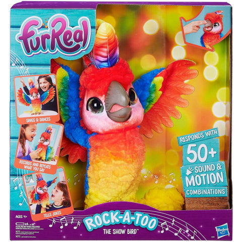 FurReal Rock-A-Too The Show Bird [Toys, Ages 4+]