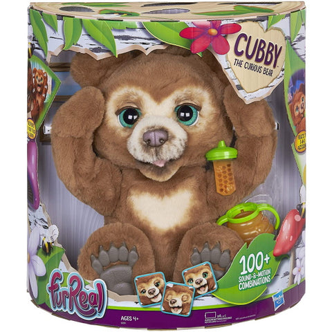 FurReal Cubby The Curious Bear [Toys, Ages 4+]