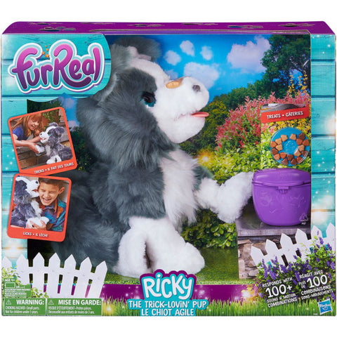FurReal Ricky The Trick-Lovin' Pup [Toys, Ages 4+]