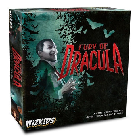 Fury of Dracula - 4th Edition [Board Game, 2-5 Players]