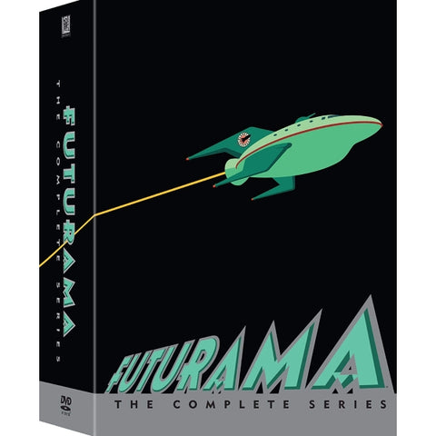 Futurama: The Complete Series - Seasons 1-8 [DVD Box Set]