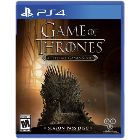 Game of Thrones: A Telltale Games Series - Season Pass Disc [PlayStation 4]