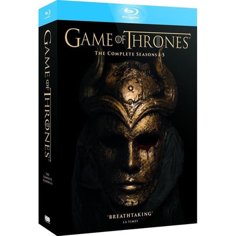Game of Thrones: The Complete Seasons 1-5 [Blu-Ray Box Set]