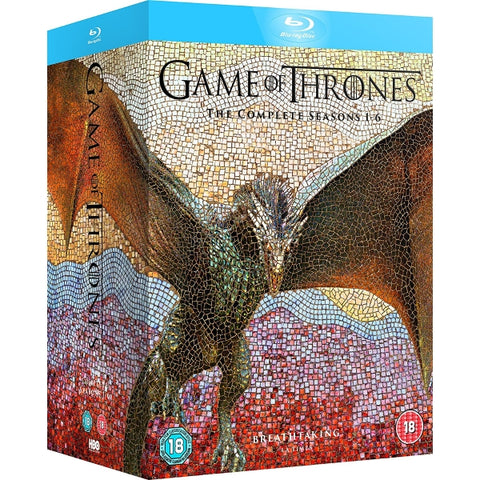 Game of Thrones: The Complete Seasons 1-6 [Blu-Ray Box Set]