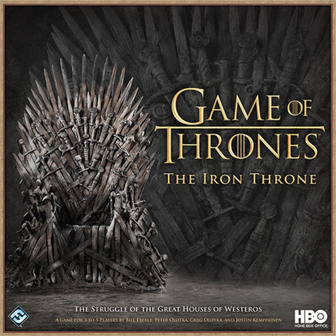 Game of Thrones: The Iron Throne [Board Game, 3-5 Players]