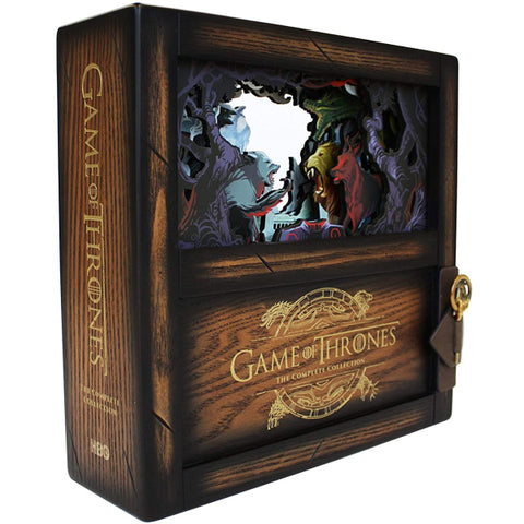 Game of Thrones: The Complete Collection - Collector's Edition - Seasons 1-8 [Blu-Ray Box Set]