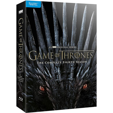 Game of Thrones: The Complete Eighth Season [Blu-Ray + Digital Box Set]