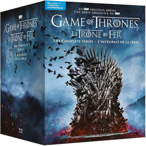 Game of Thrones: The Complete Series - Seasons 1-8 [Blu-Ray + Digital Box Set]