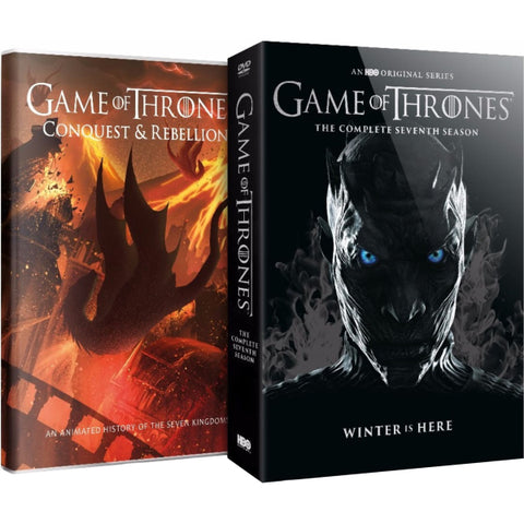 Game of Thrones: The Complete Seventh Season - Limited Edition w/ Conquest & Rebellion [DVD Box Set]