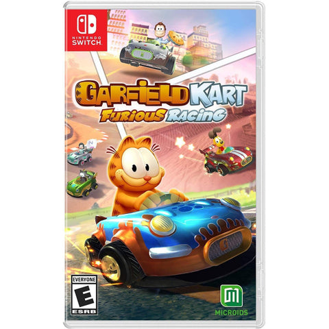 Garfield Kart: Furious Racing [Nintendo Switch]