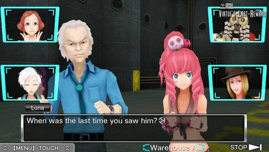 Zero Escape: Virtue's Last Reward [Sony PS Vita]