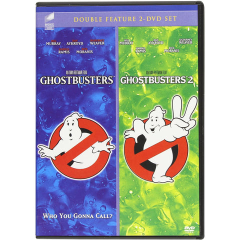 Ghostbusters / Ghostbusters 2 - Double Feature [DVD Box Set]