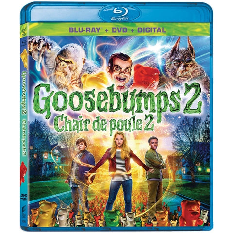 Goosebumps 2: Haunted Halloween [Blu-Ray + DVD + Digital]