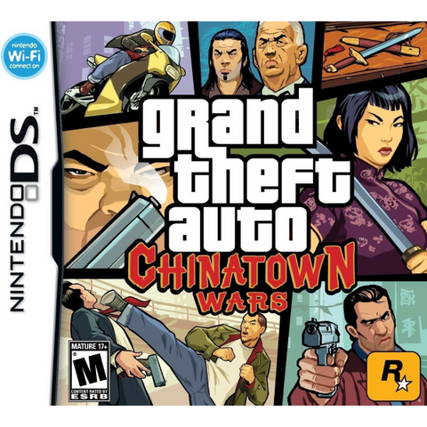 Grand Theft Auto: Chinatown Wars [Nintendo DS DSi]