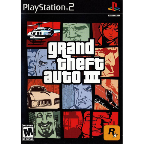 Grand Theft Auto III [PlayStation 2]