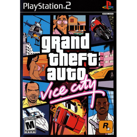 Grand Theft Auto: Vice City [PlayStation 2]