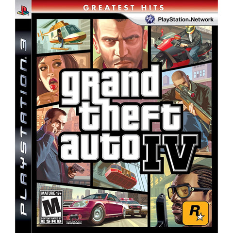 Grand Theft Auto IV [PlayStation 3]