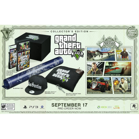 Grand Theft Auto V - Collector's Edition [PlayStation 3]