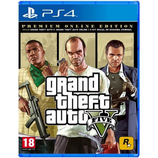 Grand Theft Auto V - Premium Online Edition [PlayStation 4]
