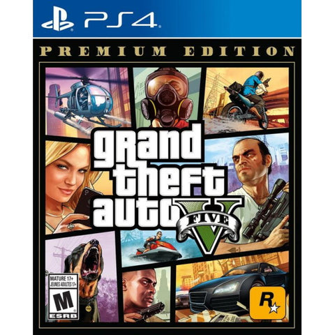 Grand Theft Auto V - Premium Edition [PlayStation 4]