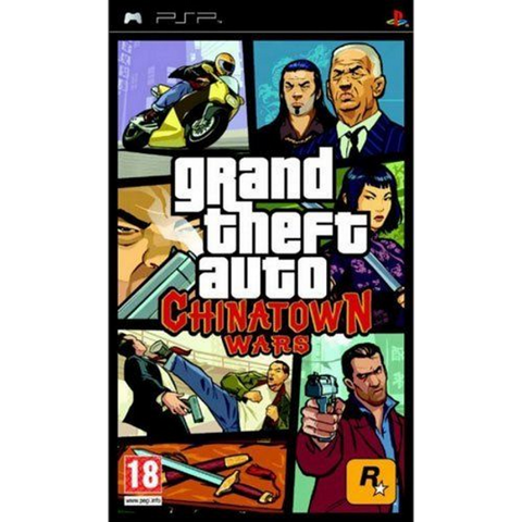 Grand Theft Auto: Chinatown Wars [Sony PSP]