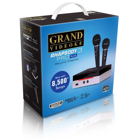 Grand Videoke Rhapsody 3 Pro Plus - TKR-343MP+ [Karaoke System]