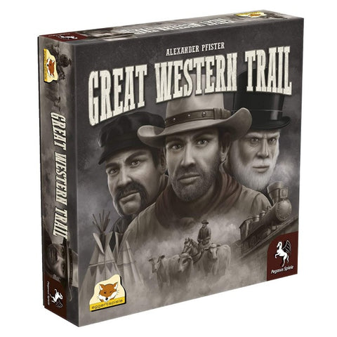 Great Western Trail [Board Game, 2-4 Players]