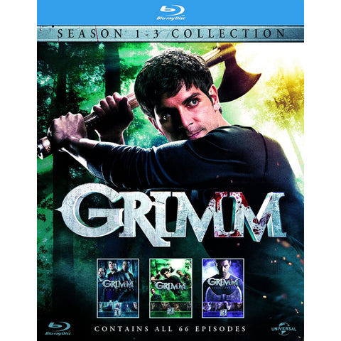 Grimm: Season 1-3 Collection [Blu-Ray Box Set]