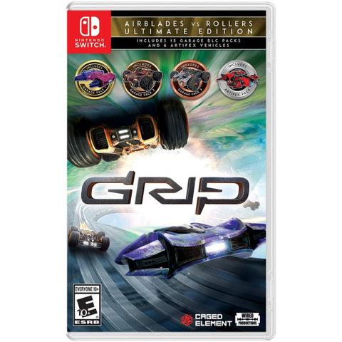 GRIP: Combat Racing - AirBlades vs Rollers - Ultimate Edition [Nintendo Switch]