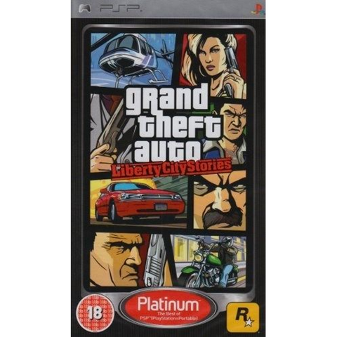 Grand Theft Auto: Liberty City Stories [Sony PSP]