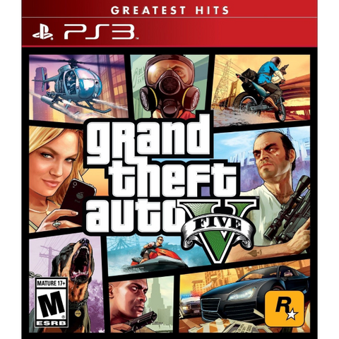 Grand Theft Auto V [PlayStation 3]