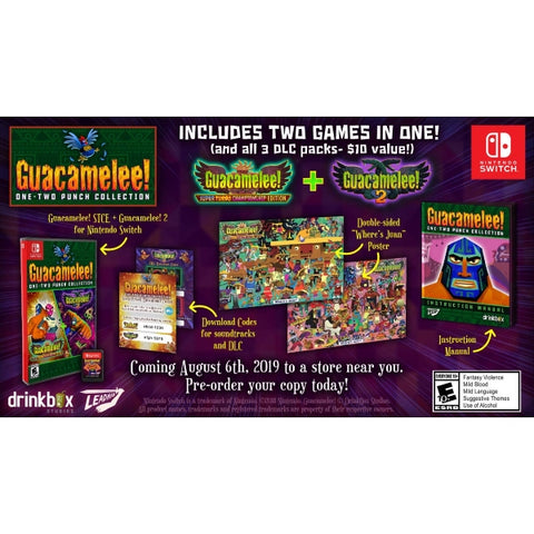 Guacamelee! One-Two Punch Collection [Nintendo Switch]