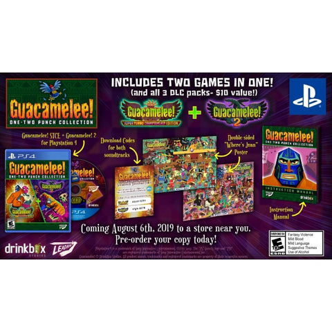 Guacamelee! One-Two Punch Collection [PlayStation 4]
