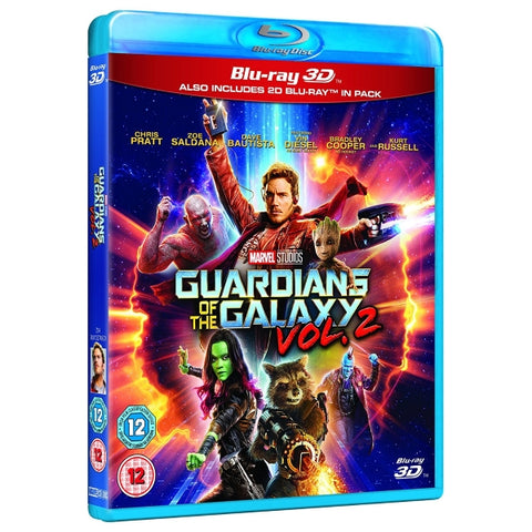 Marvel's Guardians of the Galaxy Vol. 2 3D [3D Blu-Ray]