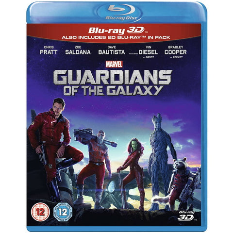Marvel's Guardians of the Galaxy [3D + 2D Blu-ray]