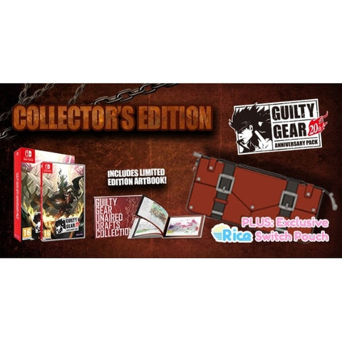 Guilty Gear 20th Anniversary Pack - Collector's Edition w/ Exclusive Pouch [Nintendo Switch]