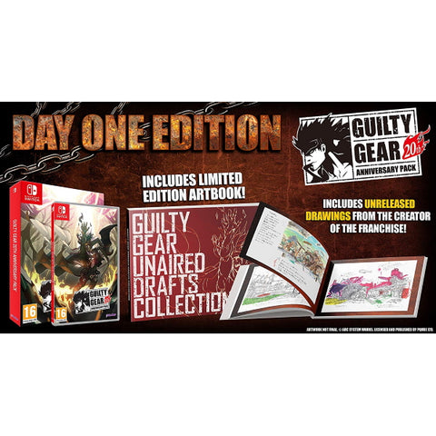 Guilty Gear 20th Anniversary Pack - Day One Edition [Nintendo Switch]